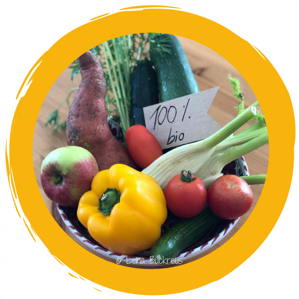 Einkauf von Bio-Lebensmittel