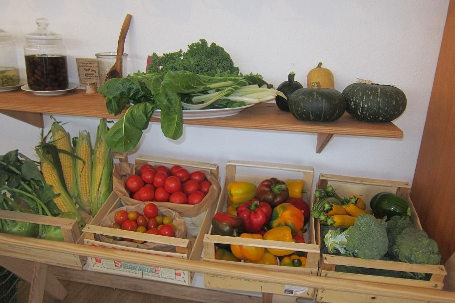 Offenes Gemüse